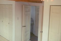 子供室ドアと収納建具